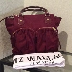 Gorgeous MZ Wallace purse & dust cover